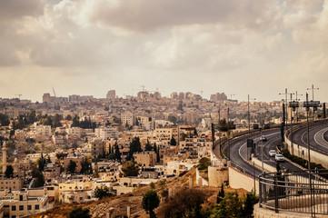 Современная жизнь на Святой Земле. Иерусалим в полдень