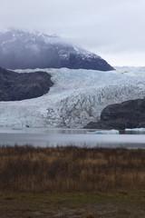 Visible retreat of Mendenhall Glacier