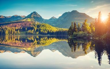 Obraz High Tatra Slovakia - fototapety do salonu