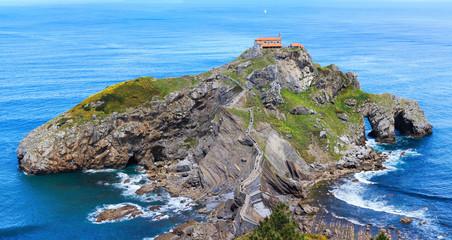 Gaztelugatxeko Doniene in Basque hermitage, Spain.