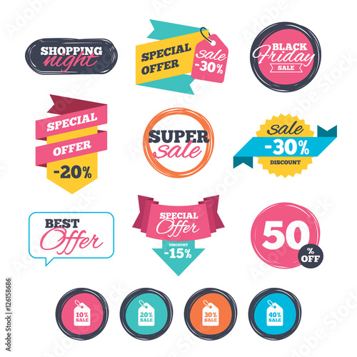 sale stickers online shopping sale price tag icons discount