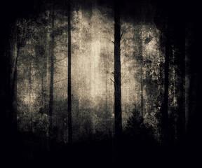 Forest Wallpaper, Grunge Background