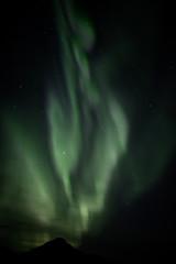 Aurora flames in Norway