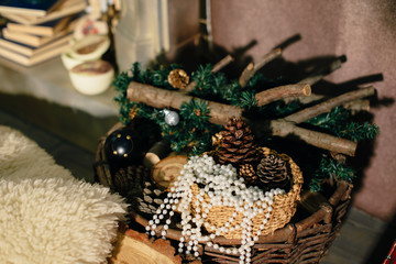 Christmas decorations in the studio 1