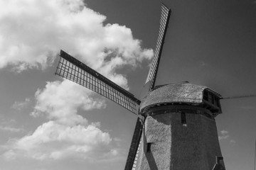 Old Fashioned Windmill, Holland
