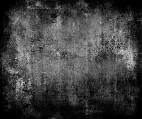 Dark Grunge Scratched Texture Background With Frame
