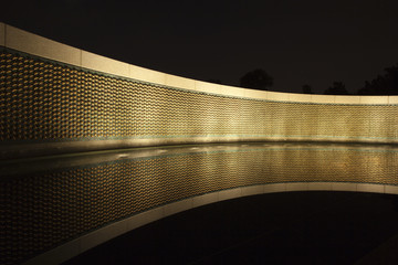 Stars of Freedom wall at the World War II Memorial in Washington