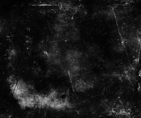 Black Metal Grunge Scratched Texture Background