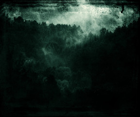 Forest Wallpaper, Dark Green Beautiful Abstract Grunge Background