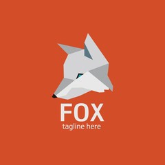 Fox head Vector Illustration. Illustration of fox head cartoon style