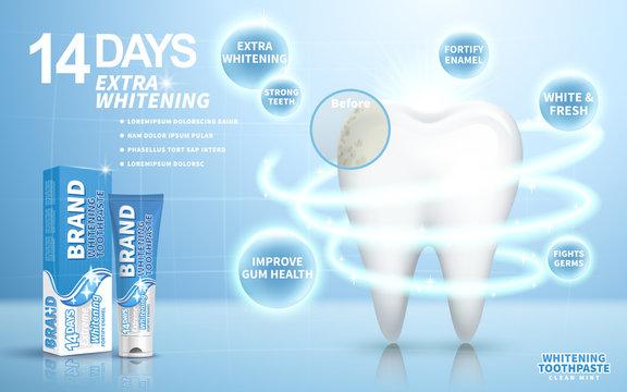 whitening toothpaste ad