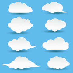collection of cloud for you design