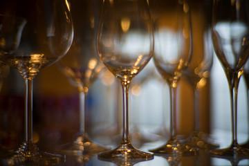 飾り棚のグラス