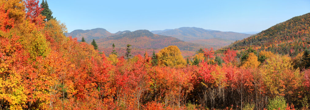 White mountain national forest in New Hampshire