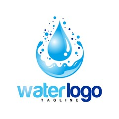 water vector logo
