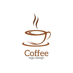Coffee Creative Concept Logo Design Template