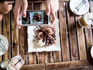 Smartphone food photography.