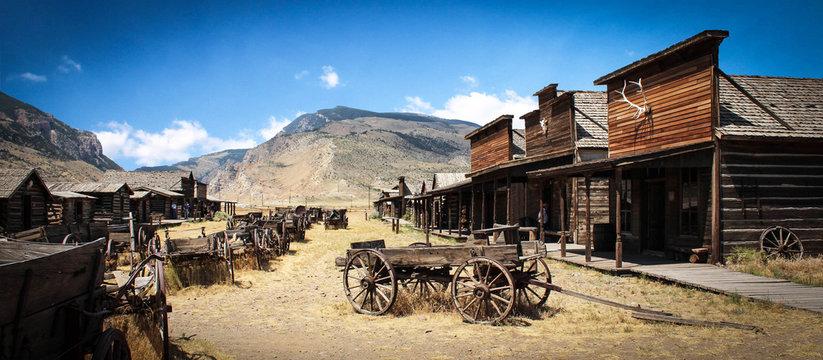 Ville fantôme à Cody / Wyoming - USA