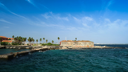 Slavery fortress on Goree island, Dakar, Senegal