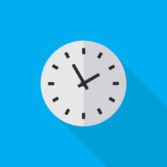 clock flat icon illustration