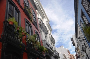 Rues, maisons et ruelles de Santa Cruz de La Palma
