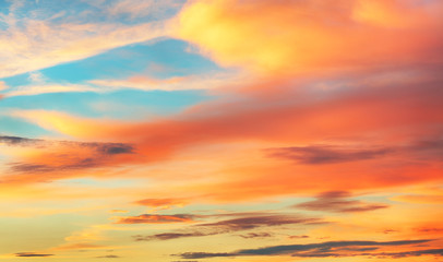 Fototapete - Color Sky only sunset sunrise