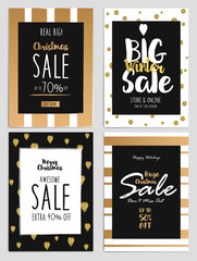 Sale and Discount Christmas Flyers 2
