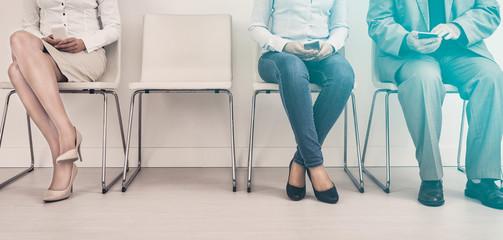 Recruitment recruiting recruit hiring hire - concepts.