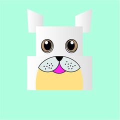 Dog Paper for a children