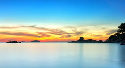 Landscape sunrise on Hon Chong cape, Nha Trang, Vietnam