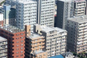 建物 東京都心の一般的なマンション 庶民生活