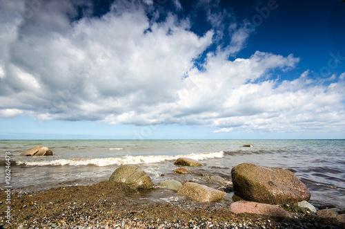 Wilde Schöne Ostseeküste Bei Rügen Auszeit Entspannung Relaxen