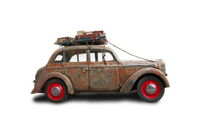 Rat Look Style car