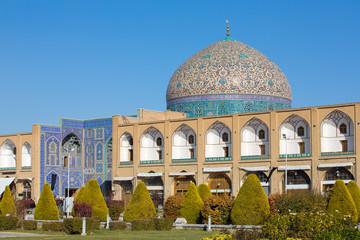 Sheikh Lotfollah Mosque at Naqhsh-e Jahan Square in Isfahan, Ira