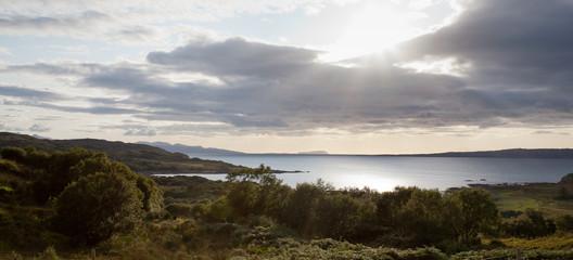 Canna & Rhum from Tokaveig, Isle of Skye