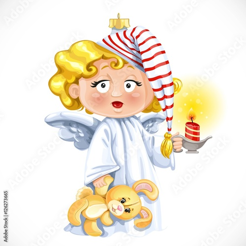 Little Angel Toys : Quot christmas tree decorations toy little angel with