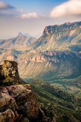 Zelfklevend Fotobehang Groen blauw Big Bend National Park