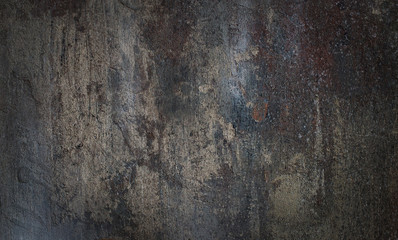 Grey stone background with an uneven texture.