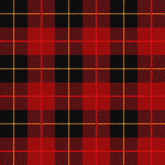 Tartan, plaid seamless pattern