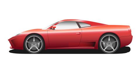 Vector sport car illustration