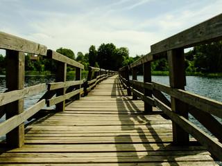Bridge to Somewhere in Trakai