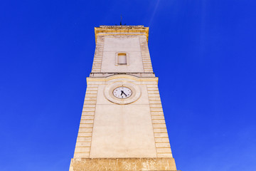 Clock Tower on Place de l'Horloge in Nimes