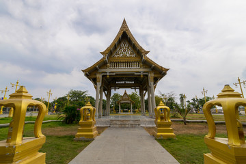 THAILAND - JANUARY 13, 2016: Photo of a famous temple in this country
