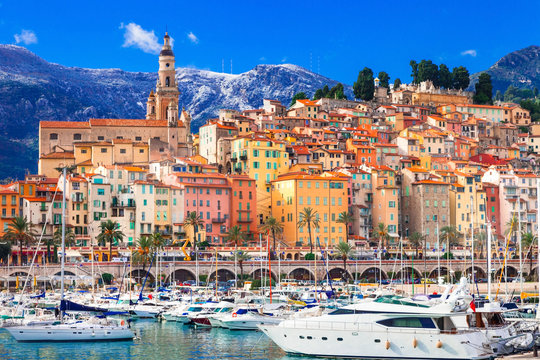 colorful Menton - luxury holidays in south of France