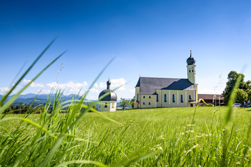 Church Wilparting.Bavaria, Germany
