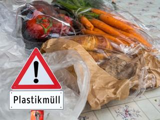 Achtung Plastikmüll