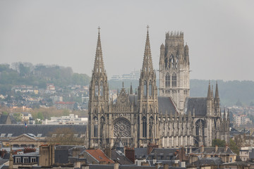 Saint-Ouen church in Rouen, France