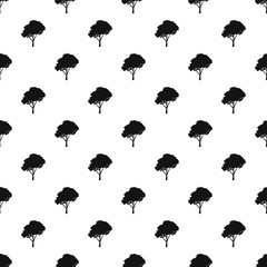 Tree pattern. Simple illustration of tree vector pattern for web