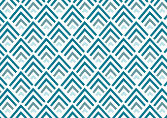 Abstract geometric pattern background | blue color decoration modern fashion design | wallpaper backdrop