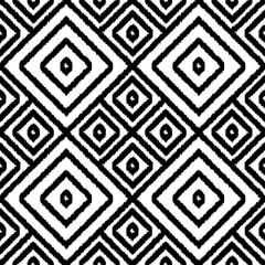Autocollant pour porte Style Boho Geometric seamless pattern